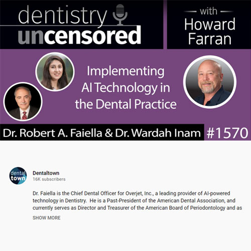 Implementing AI technology in the dental practice